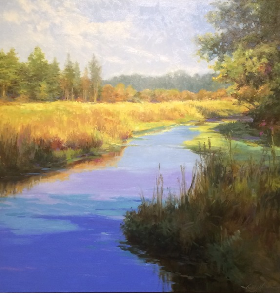 Sandy Nelson - Mid Autumn Marsh border=