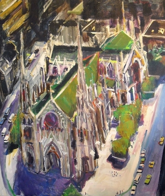 Ted Jaslow - Cathedral in a Canyon #5465