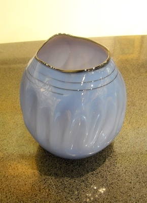 Seattle Glass Studio - Small Amorphic - Lavender - GLASS