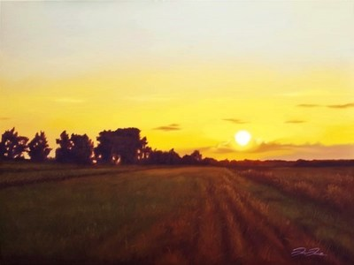 Title: Hot Morning , Size: 30x40 , Medium: Oil on Canvas , Price: $2,300