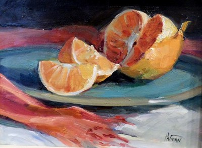 Title: Tangerines , Size: 6x8 , Medium: Oil on Canvas , Price: $400