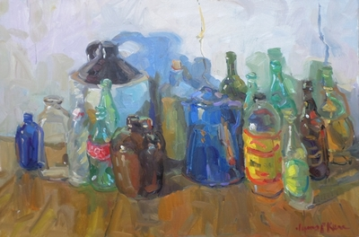 James  P. Kerr - Bottles and Jugs