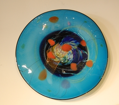 Title: Landscape Wall Plate VI , Medium: GLASS , Price: $1,425