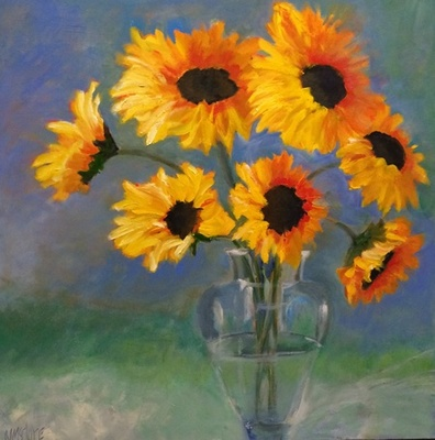 Nancy McClure - A Bunch of Sunflowers