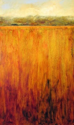 Title: Marsh View VII , Size: 60x36 , Medium: Oil on Canvas , Price: $3,500