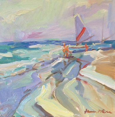 James  P. Kerr - Little Catamaran