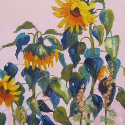Carol Pope - Summer Sunflowers