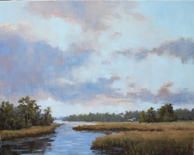 Sheila Wood Hancock - Low Country Vista