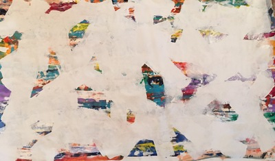 Title: Fiesta , Size: 38x62 , Medium: Mixed Media , Price: $1,850