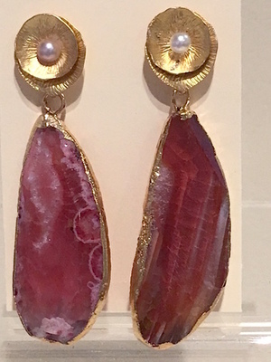 Sugarfoot Jewels - Agate Drop Earrings