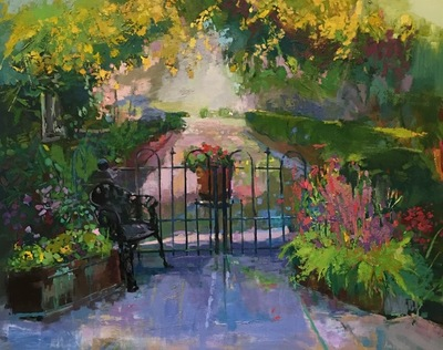 Ann Watcher - Private Garden