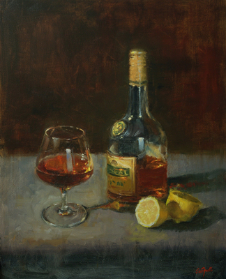 Sue Foell - Brandy with Lemon