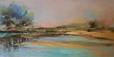 Title: Shifting Sands , Size: 12x24 , Medium: Oil on Canvas , Price: $500