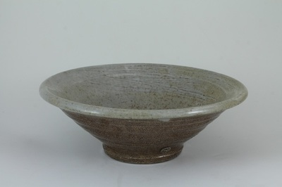Title: Small Bowl Gray , Medium: Clay , Price: $50
