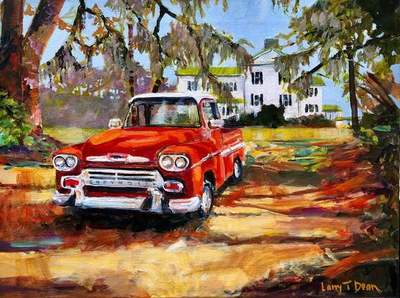 Larry Dean - Red Chevy at Edisto