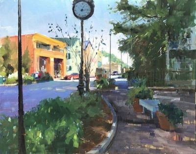 Title: Beaufort Time , Size: 24x30 , Medium: Oil on Linen , Price: $2,200