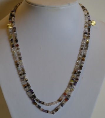 Title: Long beaded necklace , Price: $52