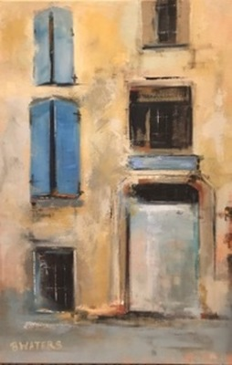 Bennett Waters - Blue Shutters