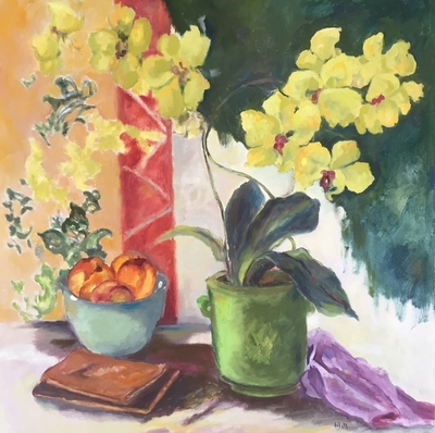 Margaret Hill - Yellow Orchid