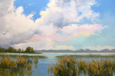 Sandy Nelson - Changing Skies - Oil on Canvas - 20x30