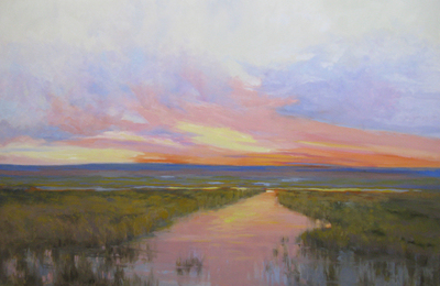 Sandy Nelson - Expanse - Oil on Canvas - 20x30