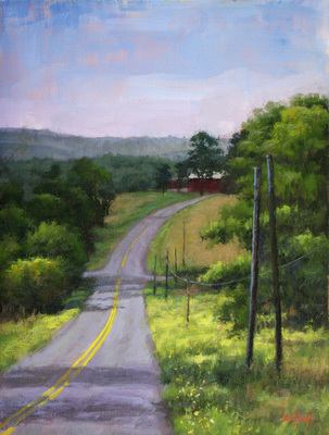 Title: Otsego County, NY , Size: 16x12 , Medium: Oil on Canvas , Price: $925