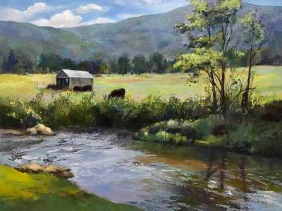 Kimberlee Maselli - Morning by the River