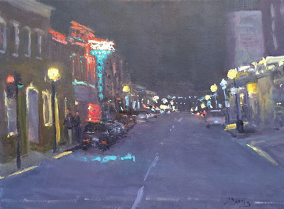 Suzanne Morris - Main Street Nocturne