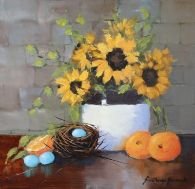 Sheila Wood Hancock - Citrus and Sunflowers