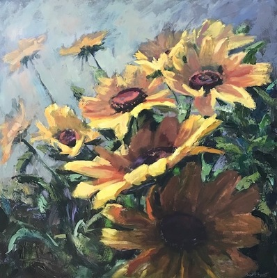 Susan Hecht - Coming up Sunflowers
