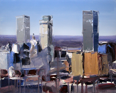 David Shingler - Abstract Cityscape