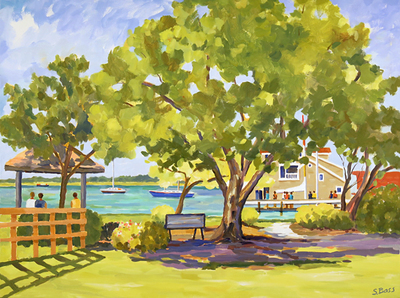 Title: The Grayden Paul Park , Size: 36x48 , Medium: Oil on Canvas , Price: $3,200