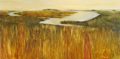 Title: Hunting Island Reserve 1 , Size: 36x72 , Medium: Oil on Linen , Price: $5,800