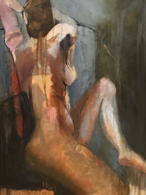 Sharon Hockfield - Figure in Chair