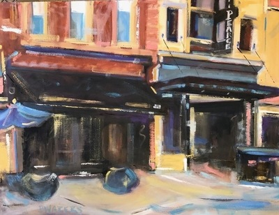 Title: Boylan-Pearce Building , Size: 30x40 , Medium: Oil on Canvas , Price: $2,100