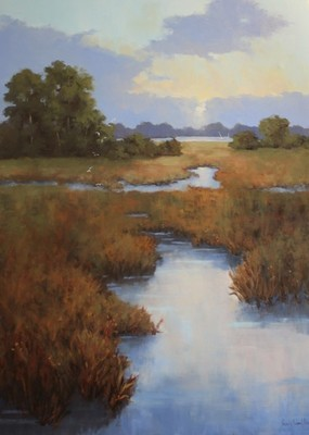 Title: Low Country  Dawn , Size: 40x30 , Medium: Oil on Canvas , Price: $4,000