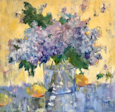 Title: Floribunda , Size: 30x30 , Medium: Oil on Canvas , Price: $1,950