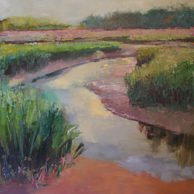 Title: A Dream of the Reeds , Size: 50x50 , Medium: Oil on Canvas , Price: $4,900