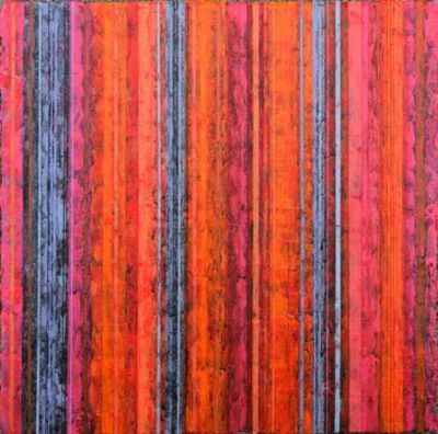 Title: Far East Dallas #131 , Size: 12x12 , Medium: Acrylic on Canvas , Price: $600