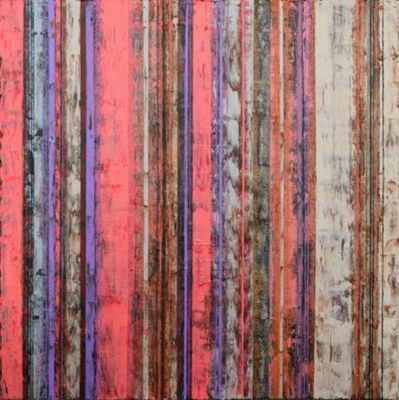 Title: Far East Dallas #94 , Size: 12x12 , Medium: Acrylic on Canvas , Price: $600