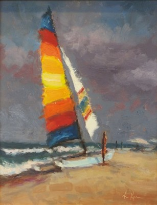 Title: Summer Squall , Size: 20x16 , Medium: Oil on Linen Panel , Price: $785