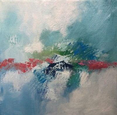 Title: Welcome I , Size: 12x12 , Medium: Oil on Canvas , Price: $275