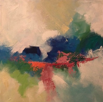 Title: Welcome III , Size: 12x12 , Medium: Oil on Canvas , Price: $425