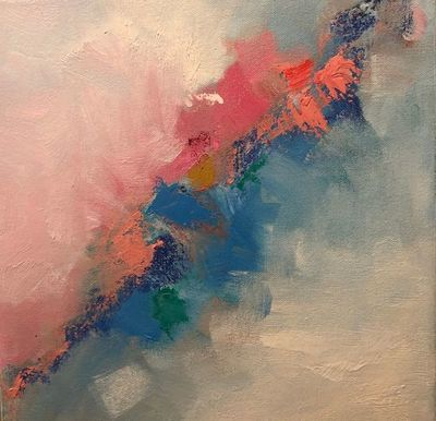 Title: Welcome IV , Size: 12x12 , Medium: Oil on Canvas , Price: $275