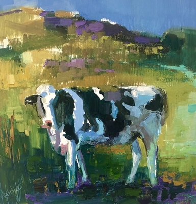 Ann Watcher - Painted Cow of Cornwall