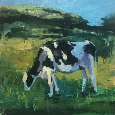 Ann Watcher - Painted Cow of Cornwall II