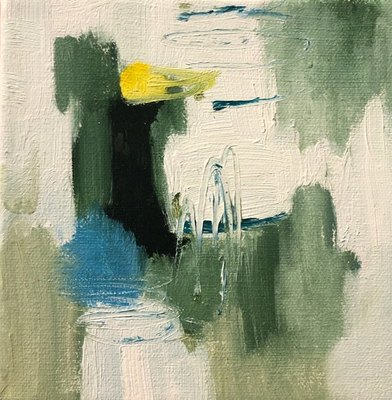 Title: Just So , Size: 6x6 , Medium: Oil on Canvas , Price: $95