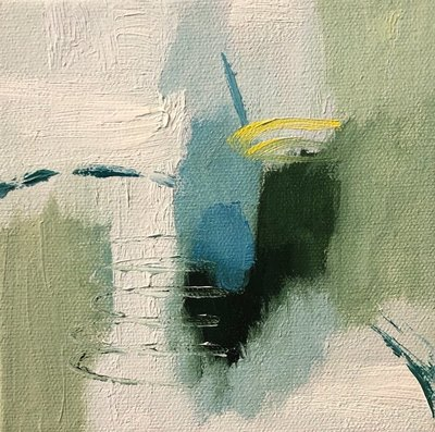 Title: Just So II , Size: 6x6 , Medium: Oil on Canvas , Price: $95