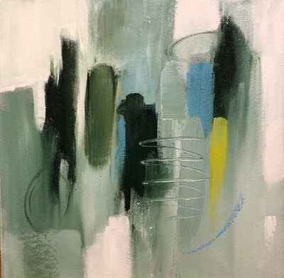 Title: So It Goes , Size: 12x12 , Medium: Oil on Canvas , Price: $275
