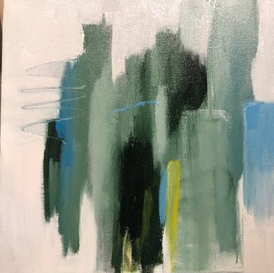 Title: So It Goes II , Size: 12x12 , Medium: Oil on Canvas , Price: $275
